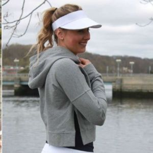 Lululemon Cut Above Pullover Heathered White